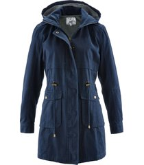 parka di cotone foderato in jersey (blu) - bpc bonprix collection
