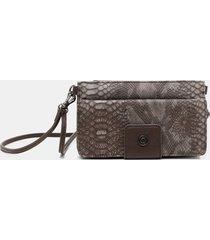 sling bag wallet mandalas - brown - u