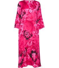 courtneyiw long dress jurk knielengte roze inwear