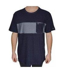 camiseta rvca promises crew masculina