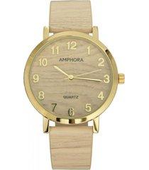 reloj beige amphora w078