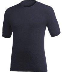 woolpower t-shirt unisex tee 200 dark navy-xs