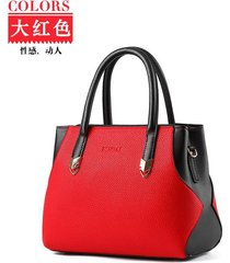 mosaic style women leather handbags free shipping shoulder bags 10 color h127-1