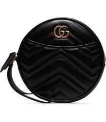 gucci gg marmont round clutch bag - black