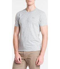 camiseta slim flamê calvin klein - mescla - pp
