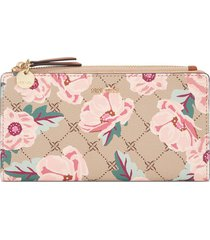 billetera organizer clare nine west para mujer estampado floral