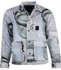 x nick farhi pyrex print chore jacket