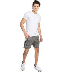 pantaloneta gris-negro-blanco jogo