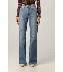 etro jeans etro 5-pocket jeans