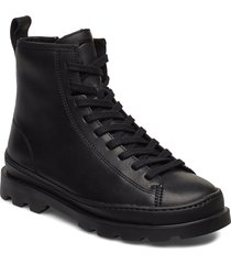 brutus shoes boots ankle boots ankle boots flat heel svart camper