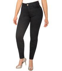 jeans colombiano control de abdomen negro new rodivan