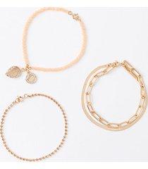 loft beaded bracelet set
