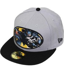 boné new era aba reta fechado batman circle plane