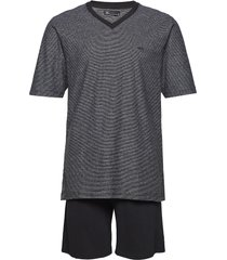 jbs pyjamas t-shirt and shorts pyjamas grå jbs