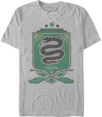 fifth sun men's slytherin shield short sleeve crew t-shirt
