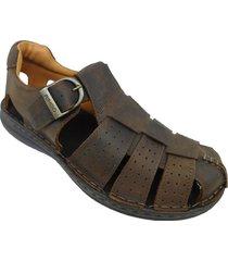 sandalia marrón ringo