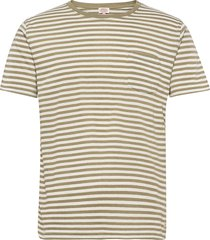 short-sleeved t-shirt héritage t-shirts short-sleeved beige armor lux