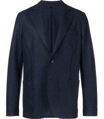 altea classic single-breasted blazer - blue