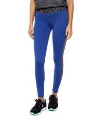 calza  azul  le coq sportif playfit side legging w