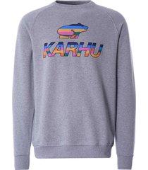 karhu team college sweatshirt | heather | ka00126-hea