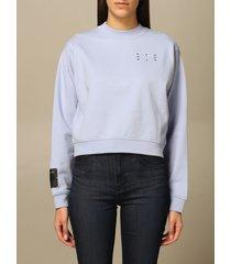 mcq alexander mcqueen mcq sweatshirt mcq crewneck sweatshirt in cotton with logo