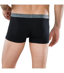 schiesser boxershort 95-5 2-pak zwart