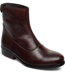 boots 82990 shoes boots ankle boots ankle boots flat heel brun carla f