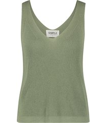 codey knitted singlet
