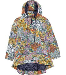 enora hooded jacket in blossom