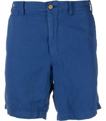 polo ralph lauren tailored bermuda shorts - blue
