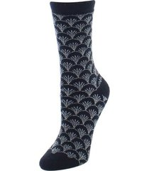 natori fretwork socks, women's, black natori