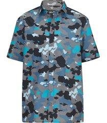 overhemd men plus blauw::lichtblauw