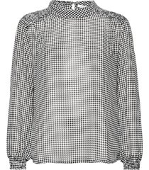 blouse long-sleeve blouse lange mouwen wit gerry weber