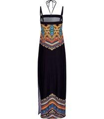 jurk in bandeaumodel van sunflair zwart