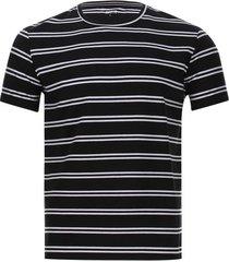 camiseta a rayas hombre color negro, talla l