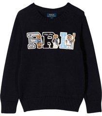 ralph lauren blue navy sweater