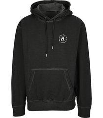 helmut lang garment dyed hoodie