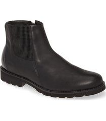 cloud phad bootie, size 7.5us in black leather at nordstrom