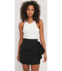 na-kd kjol - black
