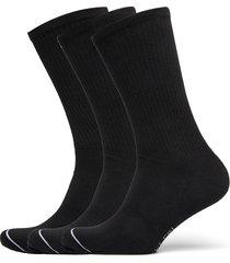 ck mens 3pk crew athleisure gavin underwear socks regular socks svart calvin klein
