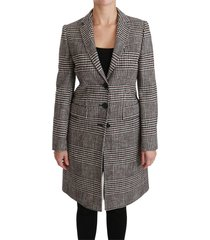 trench knee long jacket jas