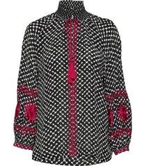 day crocus blouse lange mouwen zwart day birger et mikkelsen