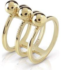 anillo guess influencer/ubr85016-54 - dorado