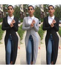 new 2016 hot autumn women long maxi cardigan sweaters coat casual long sleeve kn