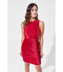vestido rojo mia loreto komplen