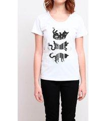 camiseta cat falling