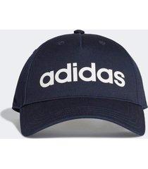 bonã© adidas daily cap azul - azul - dafiti