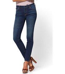 soho jeans - curvy skinny - dark tide wash - tall