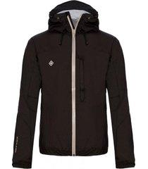 chaqueta impermeable seil negro izas outdoor