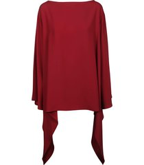 alberta ferretti wide neck top